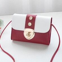 Женская сумка на плечо Новая модная весенняя мини-сумка удобная дамская сумочка и кошелек сумки через плечо для женщин