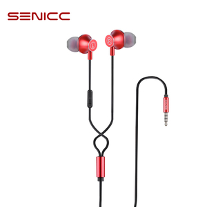 Image 1 - Senicc K2 3.5 ミリメートルin 耳イヤホン音楽イヤフォンファッションイヤホンと 4 極ジャックとマイク電話パッドMP3 MP4 プレーヤー