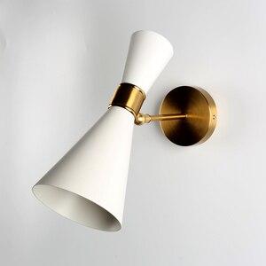 Image 2 - 북유럽 장식 hogar moderno 벽 장식 침실 야외 조명 tuinver quarto 조명 침대 옆 램프 bathquarto luces led
