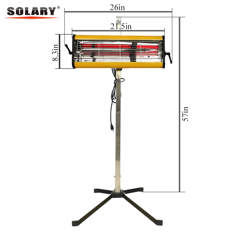 SOLARY Infrared Paint Curing Lamp ...