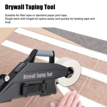 Drywall Taping Tool With Quick-Change Inside Corner Wheel Hand Tools