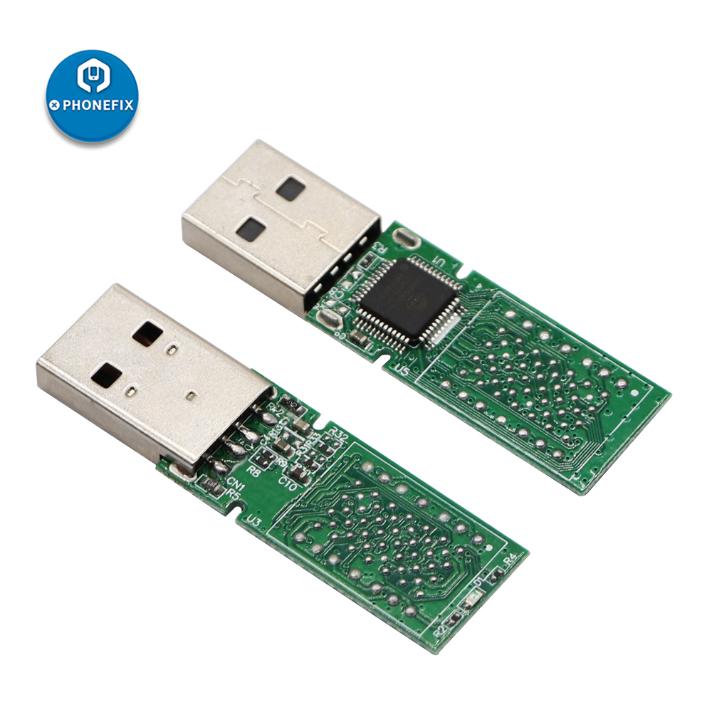 PHONEFIX DIY U Disk PCB USB 2.0 LGA70 Hynix NAND Flash For IPhone 6S 6SP 7 7P PCIE NAND Repair Tools