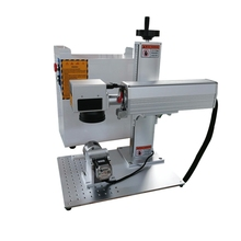 rotary axis included 20w 30W raycus fiber laser marking machine metal engraver mark for ring gold silver jewelry