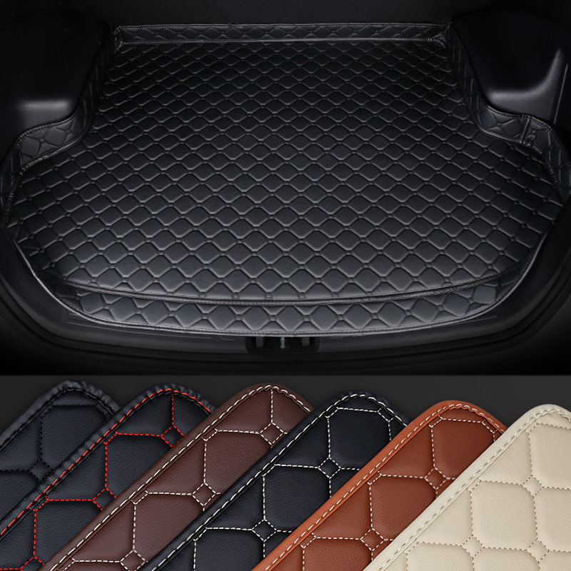 Car High-side Waterproof Trunk Mat Modification Trunk Pat Protection For Jeep Compass 2017 2018 2019 Car Decorations