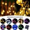 5/6. 5/7 מטר LED שמש מחרוזת אורות 20/30/50pcs שמש מנורת קריסטל כדור פיות גן בחוץ חצר אור המפלגה פסטיבל דקור-במחרוזות תאורה מתוך פנסים ותאורה באתר