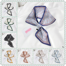 2020 New Line Socket Small Neckerchief Long Scarf Women All -match Fashion Professional Decorative