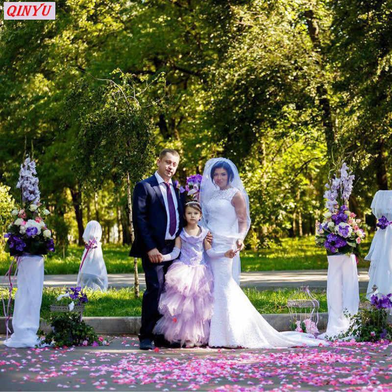 1000/100 шт. Искусственные шелковые украшения лепестки роз для конфетти для свадебной вечеринки события искусственный цветок Роза девушка Toss Petal 5Z