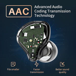 Image 4 - KZ S1D/S1 TWS Wireless Touch Control Bluetooth 5.0 Earphones Dynamic/Hybrid Earbuds Headset Noise Cancelling Sport Earphone