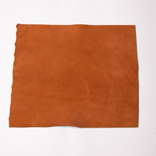 Soft cowhide leather calf Sheep skin leather Genuine leather suede face leather soft whole skin leather craf 0 3-0 5mm thick cheap Chamois Leather Grain Tanned Handbag Garment Shoes Furniture Sofa Luggage about 0 3-0 5mm