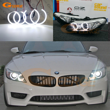 Excellent Ultra bright smd led angel eyes DRL Car styling For BMW Z4 E89 Pre Facelift 2009 2010 2011 2012 2013 цена 2017