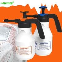 2l espuma de plástico rega pode tipo de pressão pequena-escala pulverizador de limpeza do carro de alta pressão rega pode janela ferramenta de limpeza