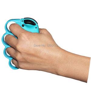 Image 5 - Nintendo anahtarı boks spor askı boks kolu kavrama Nintendo anahtarı NS için boks geliştirmek oyun deneyimi (kırmızı + mavi)