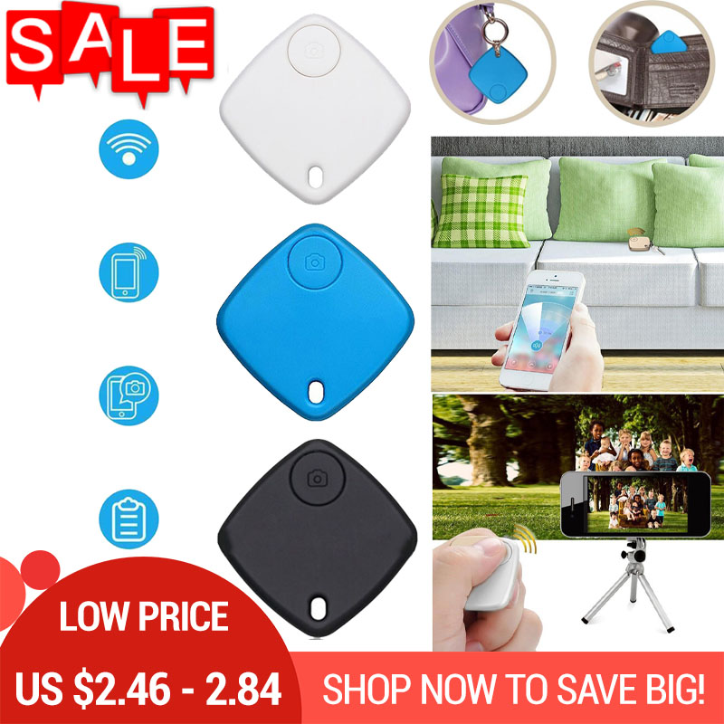 Two Way Alarm Key Finder Bluetooth Tracker Keyfinder GPS Kids Bag Wallet Key Finder GPS Tag Locator Reminder image