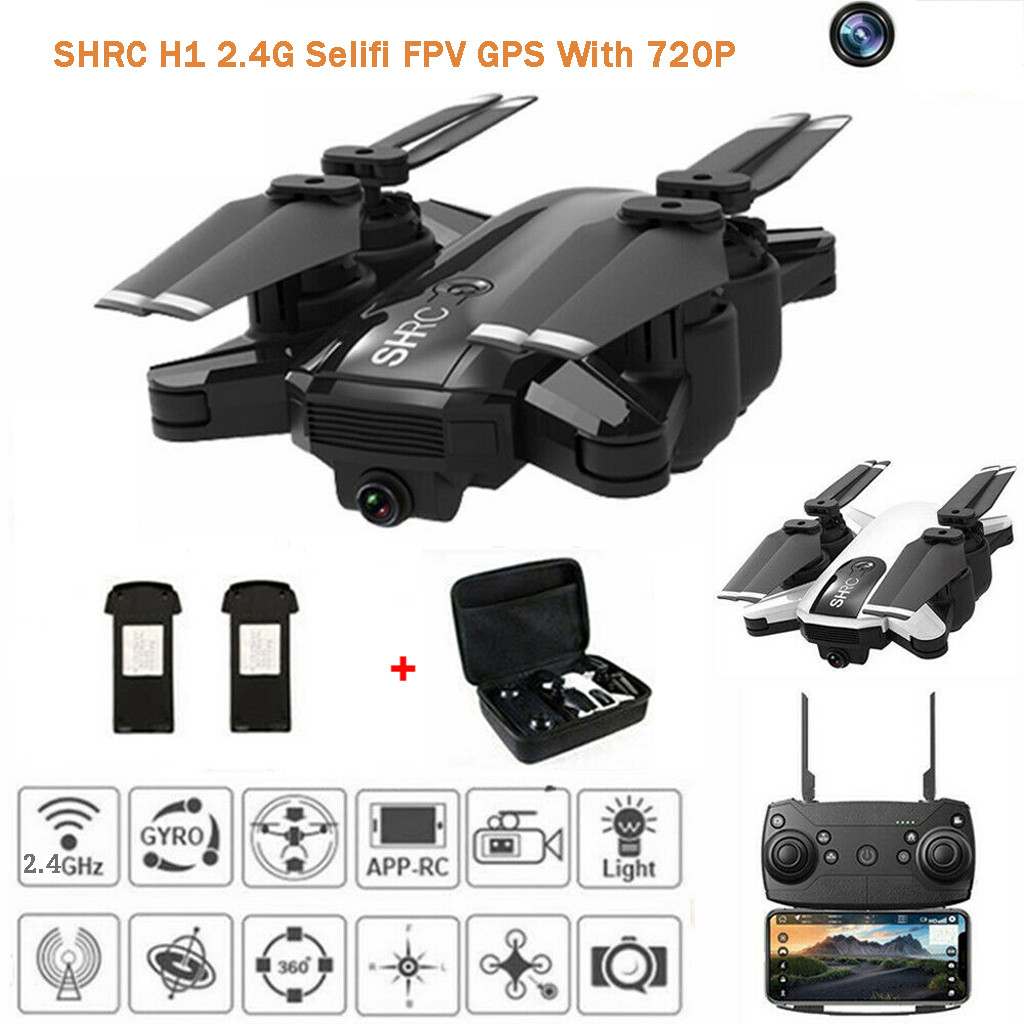 2019 New Drone x pro 2.4G Selfi WIFI FPV GPS With 720P HD Camera Foldable RC Quadcopter Shooting dron remote control brinquedos image