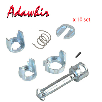 x10 Set For BMW 3 Series E46 DOOR LOCK LOCK CYLINDER REPAIR KIT FRONT LEFT OR RIGHT OE 51217019975 New