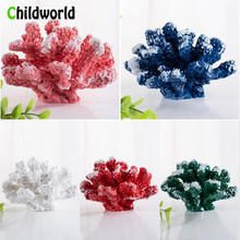 Artificial Coral Fish Tank Landscaping Decorative Aquarium Home Decoration Accessories Simulation Resin Decor Ornaments