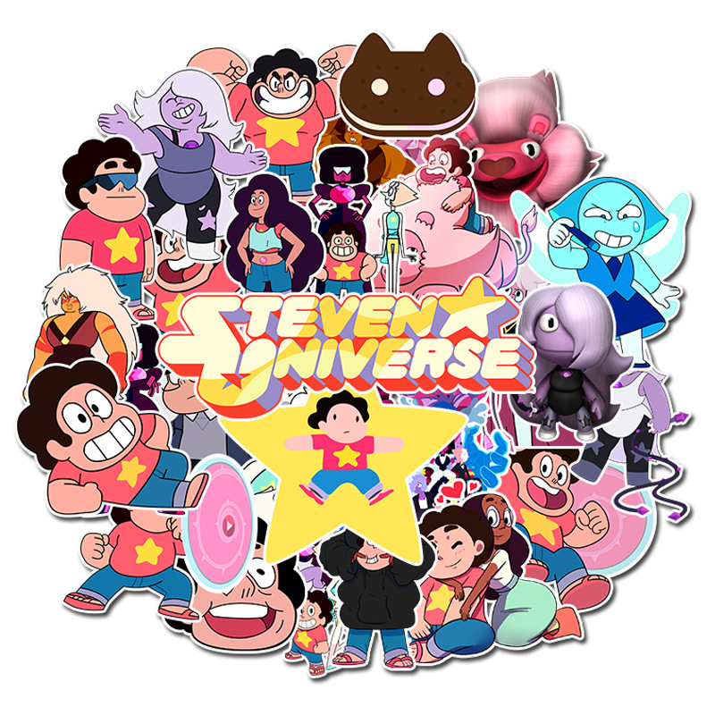 50PCS Steven Universe Stickers VSCO hydro flask Sticker book For Luggage Skateboard Laptop Motorcycle Decal waterproof decal
