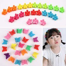 Hair Accessories 200 Pcs Butterfly Clips Flower Clip,Colorful Mini Cute Pins Small