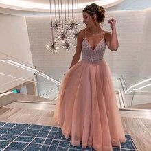 Женское вечернее платье с v образным вырезом длинное винтажное