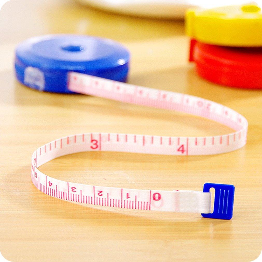 Cute Ruler Tape Measure Clothing Ruler Automatic Retractable Meter Ruler Ruler 1.5 M Small Tape Measure Soft Telescopic Tape