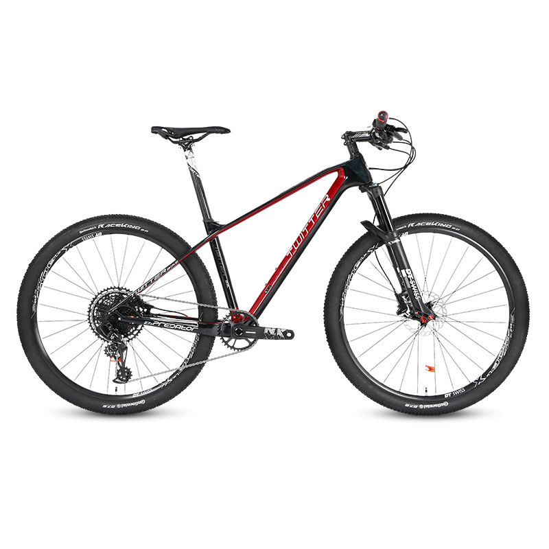 SRAM-12 Speed Carbon Fiber Mountain Bike FOX Gas Fork Ultra Light Carbon Wheel Mountain Bike