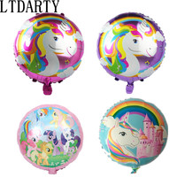 50pcs/lot 18inch Balloons Animal Foil Helium Balloon Globos Inflatable Kids Birthday Party Decorations Supplies