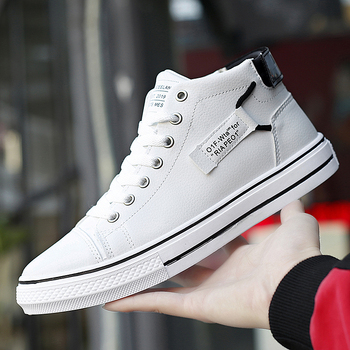 2019 new high-top sneakers high-quality men's sneakers lightweight casual sneakers sneakers mens mens shoes sneakers фото