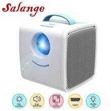 Salange Q2 Мини проектор портативный домашний кинотеатр система детское образование детский подарок родитель-ребенок мини светодиодный проект...
