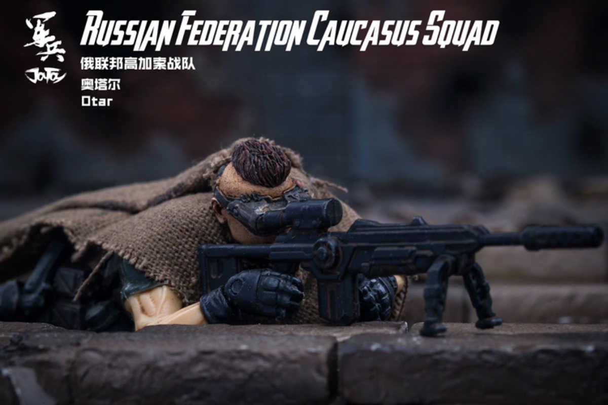 In-Stock@5zeroToys JoyToy Russian Federation Caucasus Squad Otar 1//18 Scale