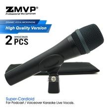 2 шт./лот качественный E935 профессиональный динамический проводной микрофон супер кардиоидный 935 микрофон для прямого эфира вокала караоке