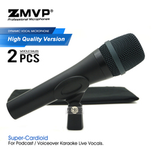 2pcs/Lots Grade A Quality E935 Professional Performance Dynamic Wired Microphone Super Cardioid 935 Mic For Live Vocals Karaoke