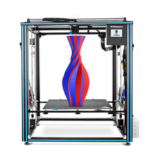 TRONXY büyük DIY 3D yazıcı Cyclops 2 çift renkli ekstruder isı yatak dokunmatik ekran büyük boy 500*500*600mm X5SA 500 2E