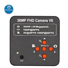 Microscope-Camera C-Mount Industrial HDMI Digital 1080P Video USB for Phone-Soldering-Repair