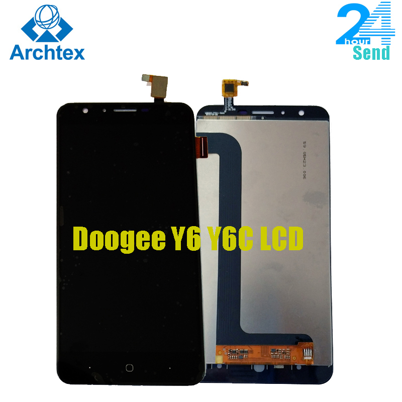 """For DOOGEE Y6 Y6C Mobile phone LCD Display +TP Touch Screen Digitizer Assembly +Tools 5.5"""" 1280x720  Repair Parts+Tools in stock"""