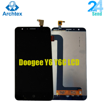 For DOOGEE Y6 Y6C Mobile phone LCD Display +TP Touch Screen Digitizer Assembly +Tools 5.5