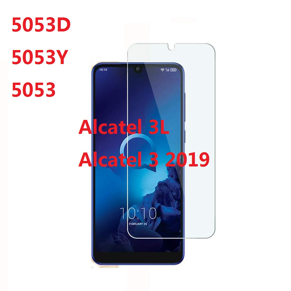 Premium Screen Protector Film For Alcatel 3 2019 5053D 5053Y 5053 9H 2.5D Tempered Glass For Alcatel