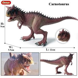 Image 5 - Oenux מקורי פרהיסטורי עולם דינוזאור טירנוזאורוס Therizinosaurus ספינוזאור פעולה דמויות דינוזאורים היורה דגם צעצועים