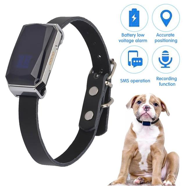 G12 GPS Smart Waterproof Universal Collar For Cats & Dogs  1