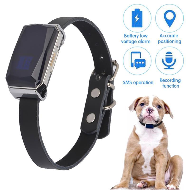 GPS-локатор G12 для домашних питомцев, Универсальный водонепроницаемый ошейник для собак и кошек, устройство для определения местоположения