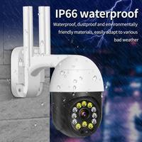 Home sorveglianza esterna EU/US/UK/AU telecamera Wifi Wireless IP 1080P inclinazione telecamere di sicurezza a cupola per velocità esterna IR