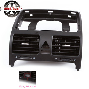 NEW 1K0 819 728 E Front Dashboard Air Outlet Dash A/C Central Vent For VW Volkswagen Jetta Golf /GTI  MK5 Rabbit 1K0819743B|Air-conditioning Installation| |  -