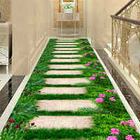 3D Lawn Path Corridor Mat Decor Bedroom Kitchen Rugs Kids Room Play Mat Sofa Area Rug Pastoral Rugs Carpets for Home Living Room