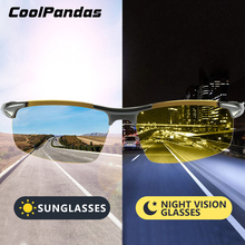 CoolPandas Brand Photochromic Sunglasses Polarized Men Day Night Vision glasses Women Safety Driving Glasses Oculos de sol gafas
