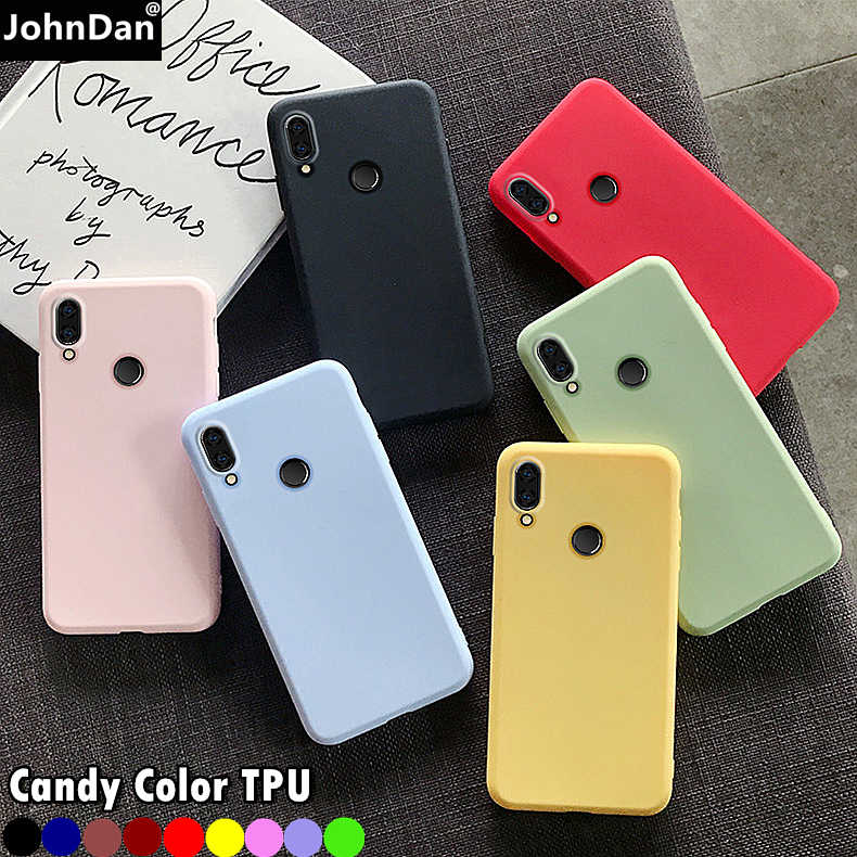 Piękny ładny TPU Case dla Xiaomi Redmi uwaga 7 8T 8 9 Pro 9S 7A 8A 4X 6A 6 5 Plus 4A 5A 4 Go cukierki kolor miękkiego silikonu skrzynki pokrywa