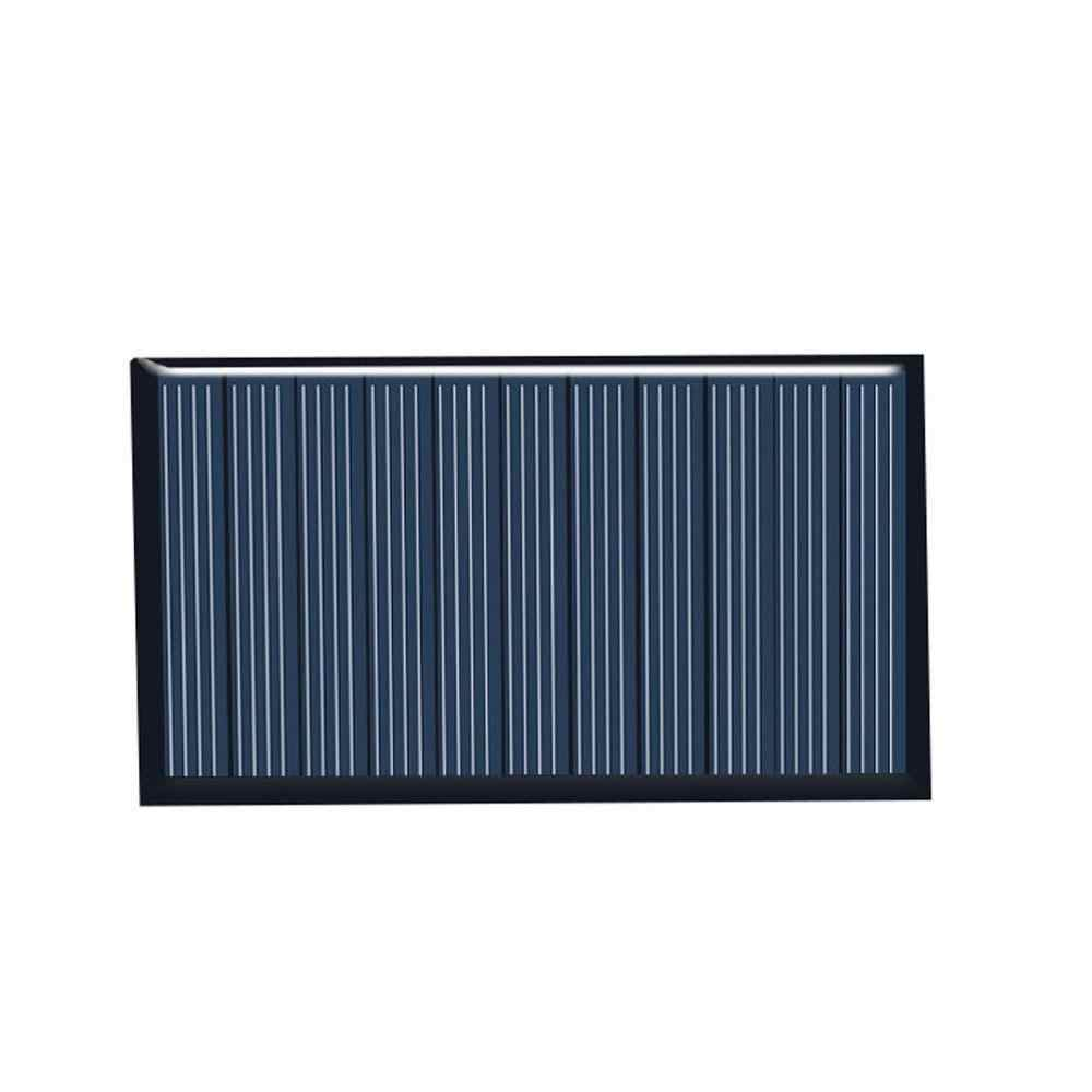 80X45 Mm 5V 75mA Panel Tenaga Surya/Solar Panel DROP Lem Papan DIY Solar Panel Polycrystalline Silicon Board