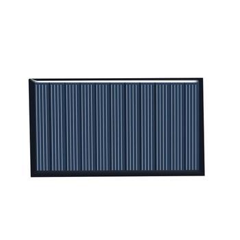 80x45mm 5V 75mA Panel słoneczny upuść klej deska DIY panele słoneczne polikrystaliczna płyta krzemowa tanie i dobre opinie QJD1001