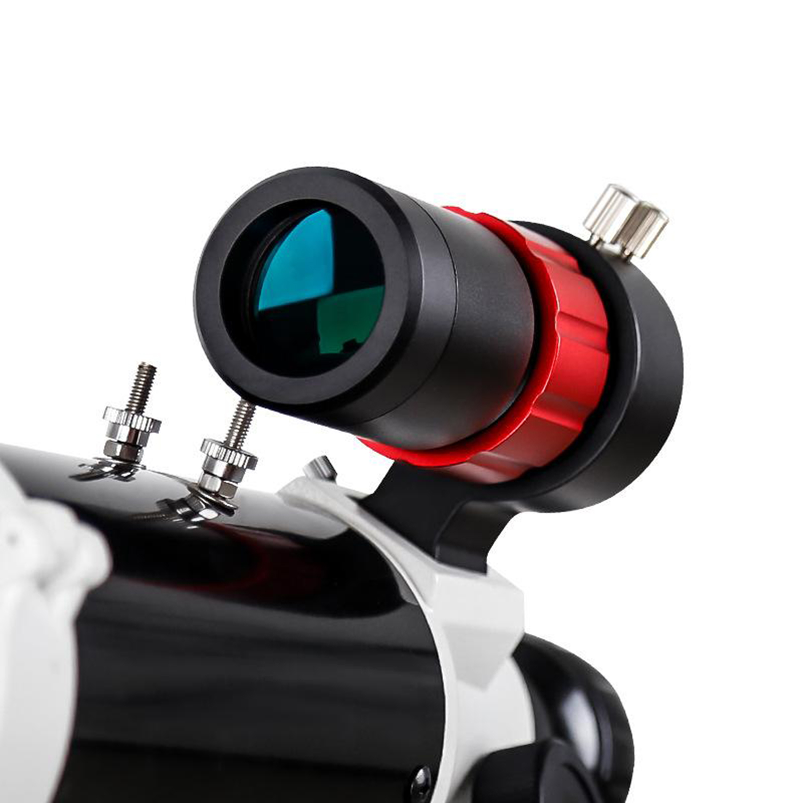 Tools : Finderscope Lightweight Durable 32mm Focuser Guide Scope Finderscope With Bracket for Astronomical Telescope