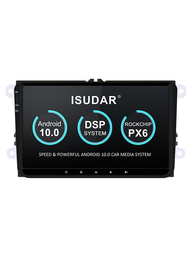Isudar Auto-Radio Car Multimedia Seat/leon 1-Din Android-10 Video-Player for GPS USB