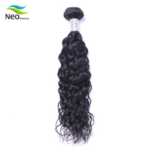 10 A Neobeauty hair natural wave natural color Peruvian Virgin Hair 100% real human hair with top quality