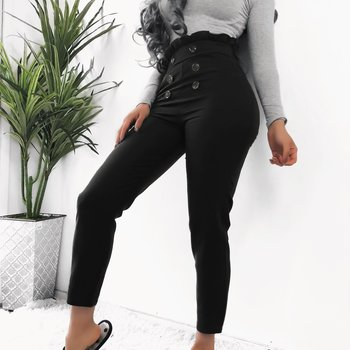 Women High Waist Stretch Pants Female Solid Button Pencil Pants 2019 Spring Autumn Casual Skinny Trousers Plus Size цена 2017